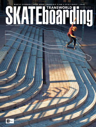 Transworld Skateboarding Oct 2016