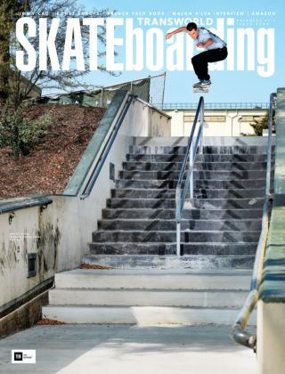 Transworld Skateboarding Dec 2016
