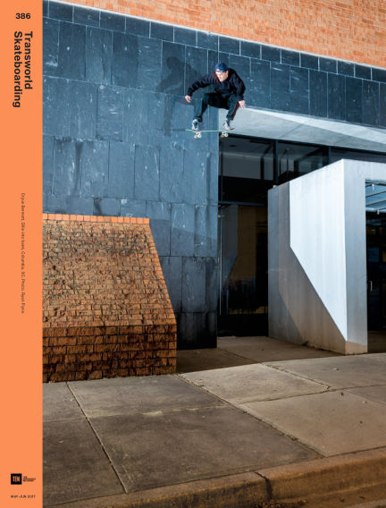 Transworld Skateboarding May 05, 2017 00:00