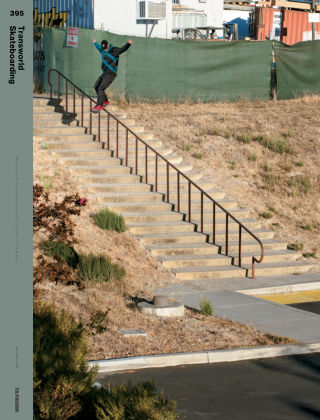 Transworld Skateboarding Nov-Dec 2018