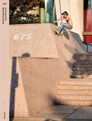 Transworld Skateboarding Jan-Feb 2019