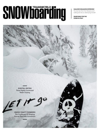 TransWorld Snowboarding December 2013