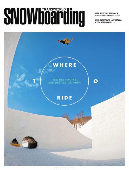 TransWorld Snowboarding October 15, 2013 00:00