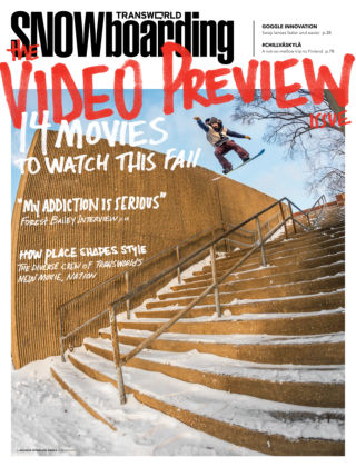 TransWorld Snowboarding September 2013
