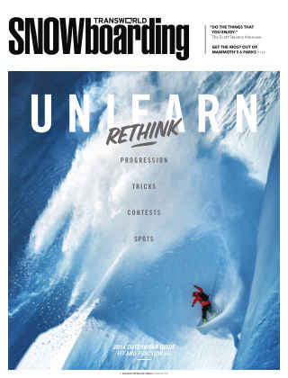 TransWorld Snowboarding October 2013