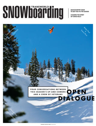 TransWorld Snowboarding January 2014