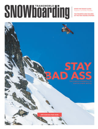 TransWorld Snowboarding October 2014