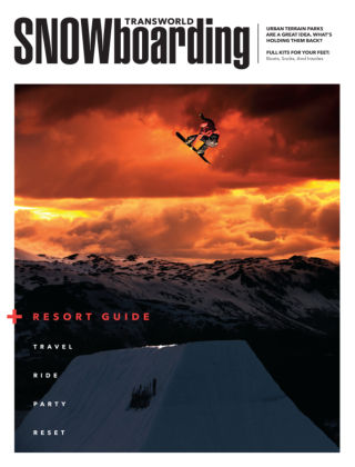 TransWorld Snowboarding November 2014
