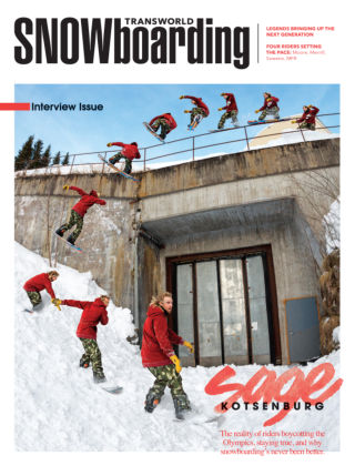 TransWorld Snowboarding January 2015