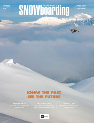 TransWorld Snowboarding October 2015