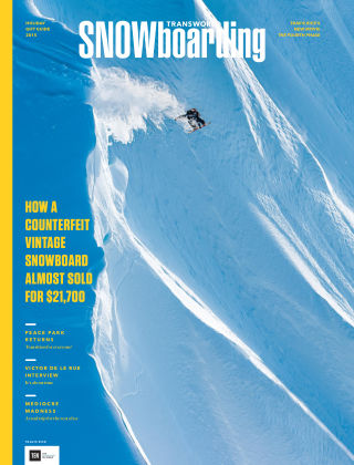 TransWorld Snowboarding Dec 2015