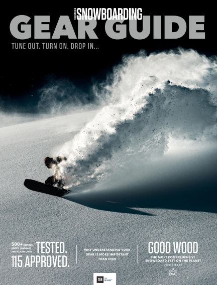 TransWorld Snowboarding September 09, 2016 00:00