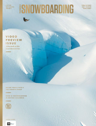 TransWorld Snowboarding Oct 2016