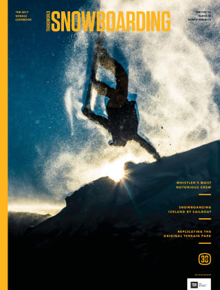 TransWorld Snowboarding Nov 2016