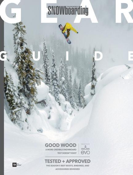 TransWorld Snowboarding September 15, 2017 00:00
