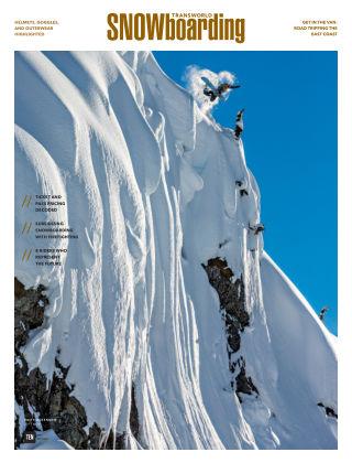 TransWorld Snowboarding Nov 2017