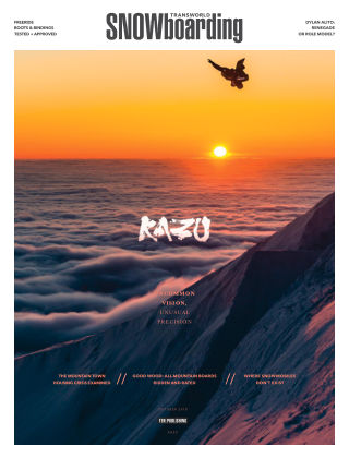 TransWorld Snowboarding Oct 2018