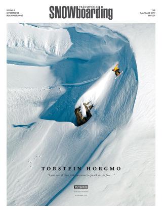 TransWorld Snowboarding Nov 2018