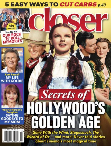 Closer (US) August 02, 2019 00:00