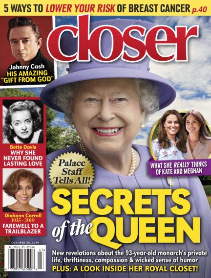 Closer (US) October 18, 2019 00:00