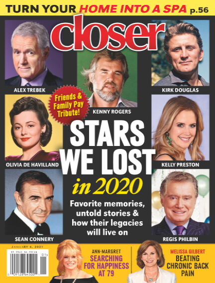 Closer (US) December 25, 2020 00:00
