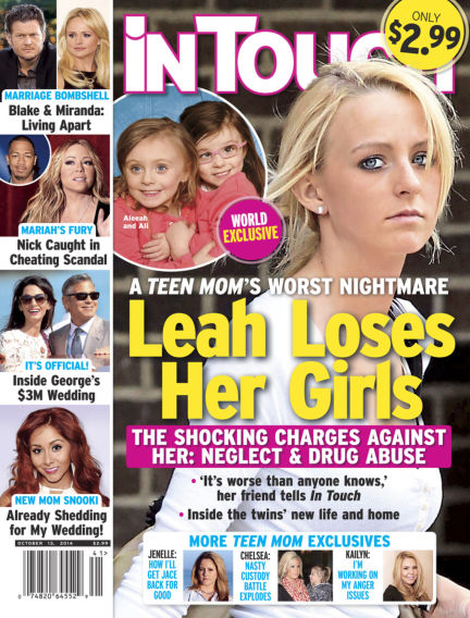 InTouch (US) October 01, 2014 00:00