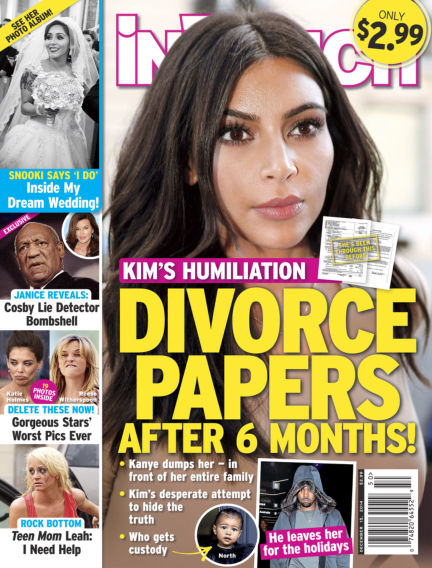 InTouch (US) December 03, 2014 00:00