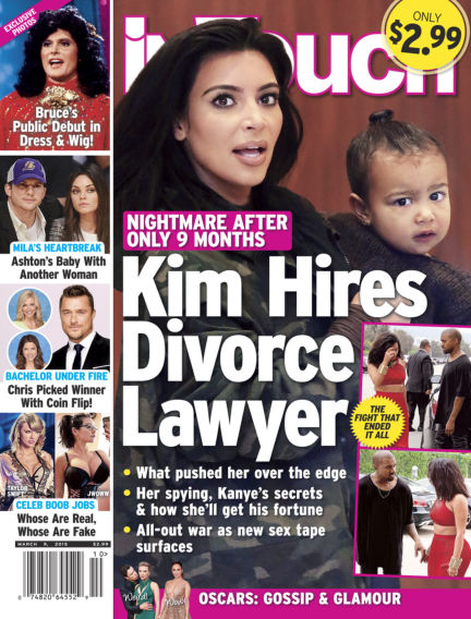 InTouch (US) February 25, 2015 00:00