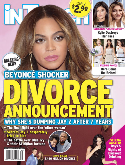 InTouch (US) September 09, 2015 00:00