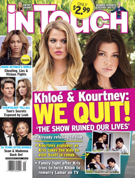 InTouch (US) October 28, 2015 00:00