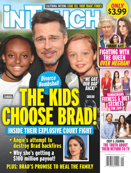 InTouch (US) November 15, 2018 00:00