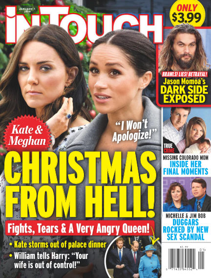 InTouch (US) December 28, 2018 00:00