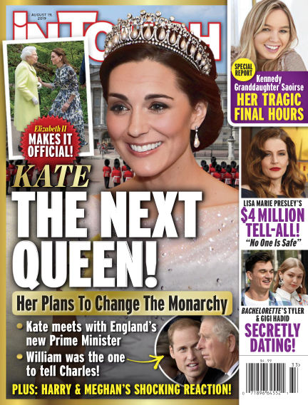 InTouch (US) August 09, 2019 00:00