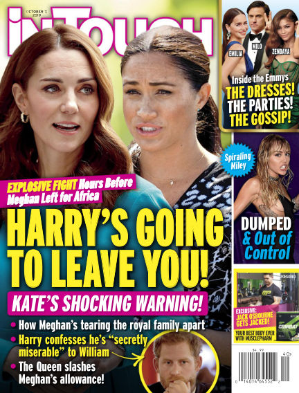 InTouch (US) September 27, 2019 00:00