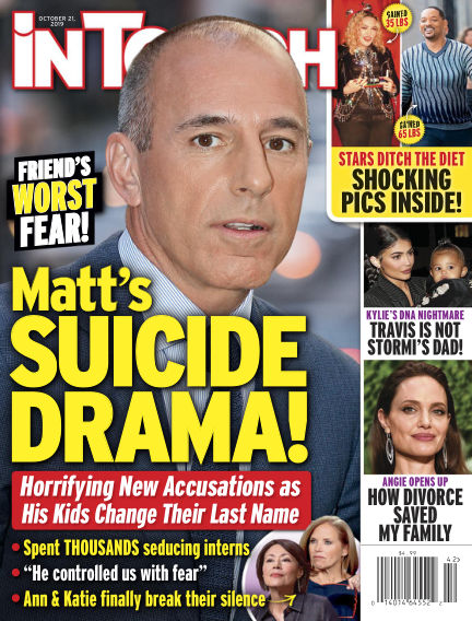InTouch (US) October 11, 2019 00:00