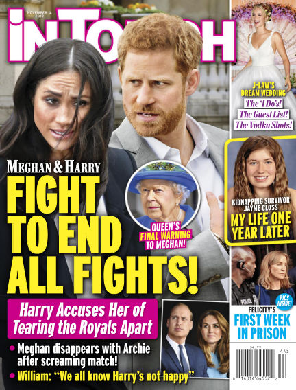 InTouch (US) October 25, 2019 00:00