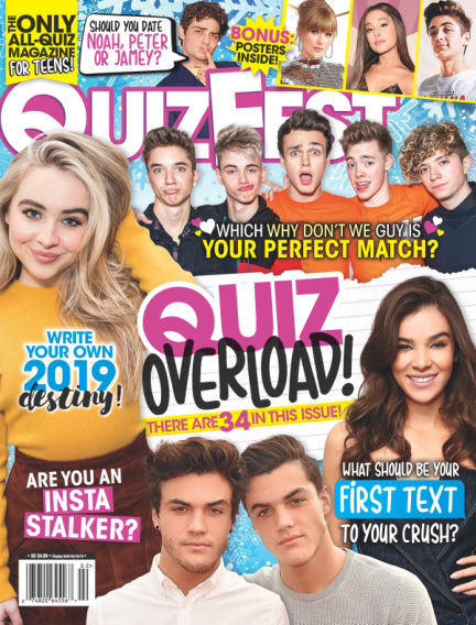 Quizfest November 16, 2018 00:00