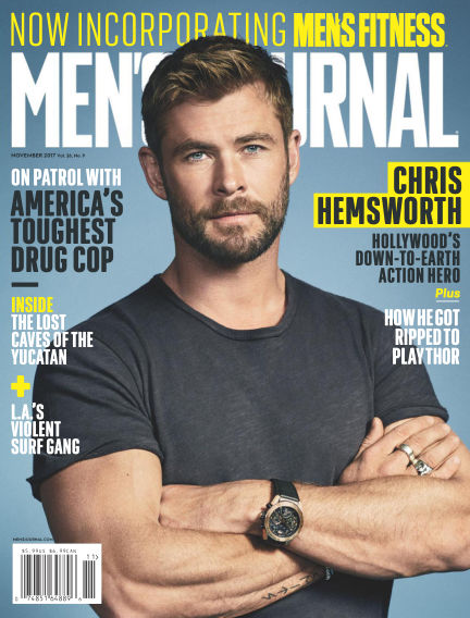 Men's Journal October 16, 2017 00:00
