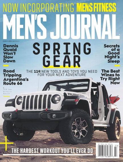 Men's Journal February 12, 2018 00:00