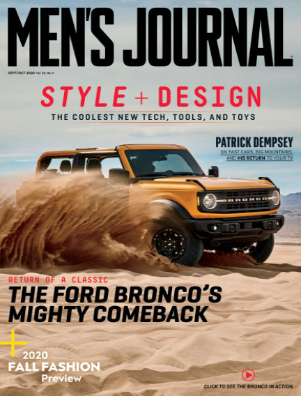 Men's Journal August 28, 2020 00:00