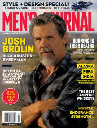 Men's Journal Sept/Oct 2021
