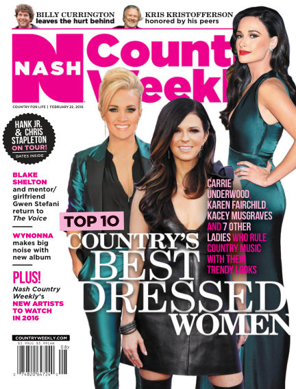 Country Weekly February 12, 2016 00:00