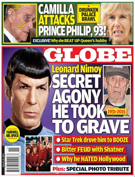 Globe March 06, 2015 00:00