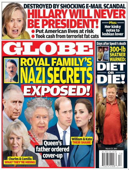 Globe March 13, 2015 00:00