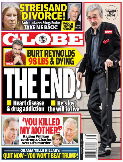 Globe September 11, 2015 00:00