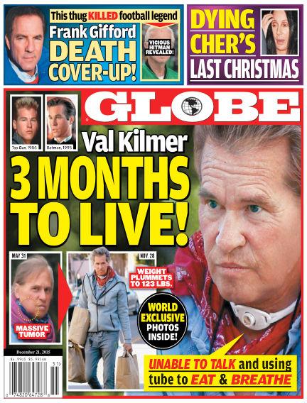 Globe December 11, 2015 00:00