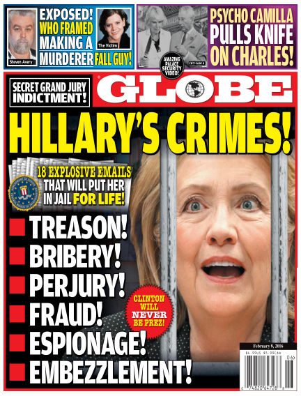 Globe January 29, 2016 00:00