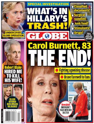 Globe Oct 31 2016