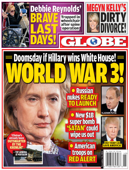 Globe November 04, 2016 00:00