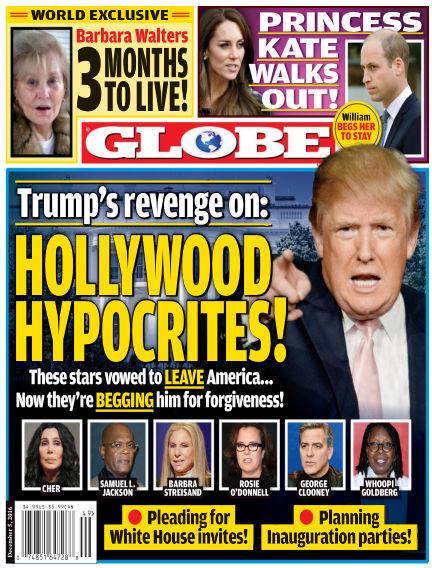 Globe November 25, 2016 00:00